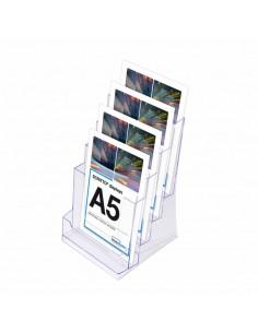 Expositor de Folletos / A5  4 Compartimentos