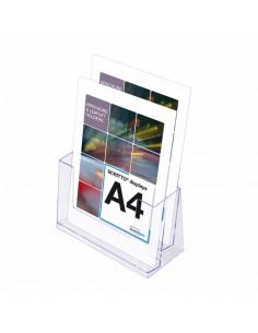 Expositor de Folletos / A4  2 Compartimentos
