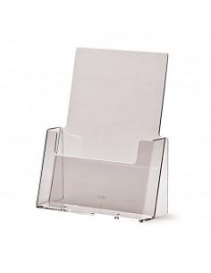 Expositor Plexiglas Sobremesa de Folletos A5 1 Compartimento