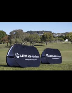 Pop Banner Golf con Gráfica