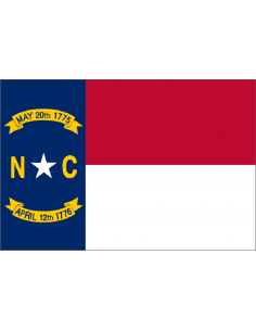 Bandera de Carolina del Norte