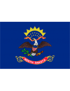 Bandera de Dakota del Norte